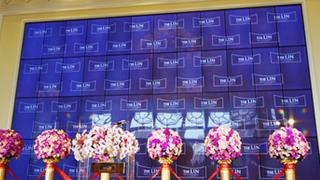 Samsung大型商用顯示器拼接大型電視牆