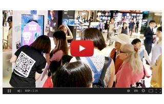 百貨專櫃集客銷售與展示產品利器:智慧互動導購機